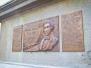 Lánchídon emléktábla avatás - párhuzamosan Budapesten és Londonban Tierney Clark  (a híd tervezője) emlékére 2014
